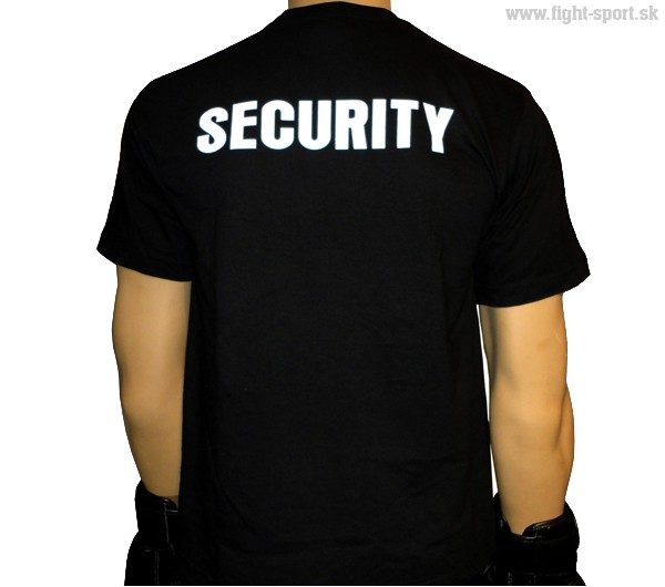 Tričko SECURITY