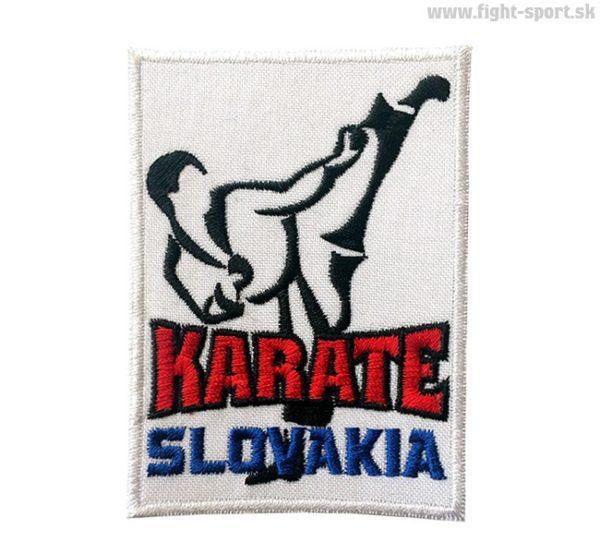 Karate Slovakia Nášivka