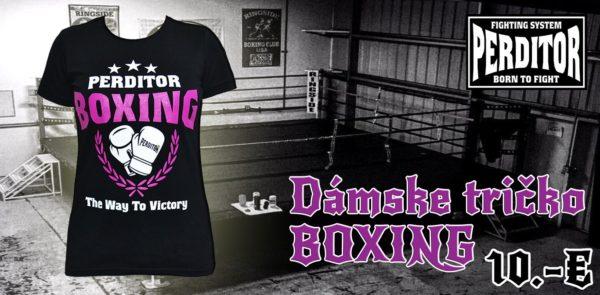 Tričko dámske PERDITOR Boxing